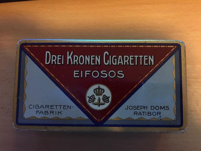 Drei Kronen Cigaretten EIFOSOS