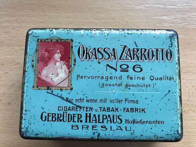 Okassa Zarrotto No.6 Gebrüder Halpaus Breslau
