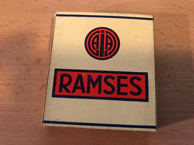 Jasmatzi Zigarettenfabrik Ramses