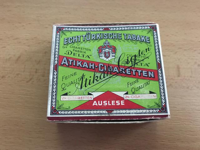 Delta Zigarettenfabrik Atikah Auslese