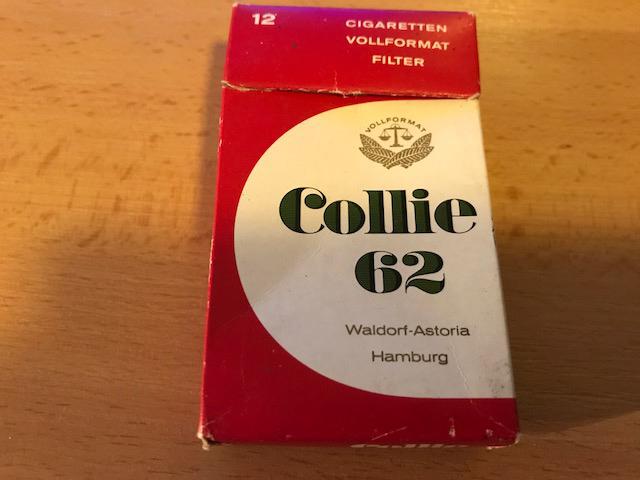 Waldorf astoria zigarettenfabrik Collie 62