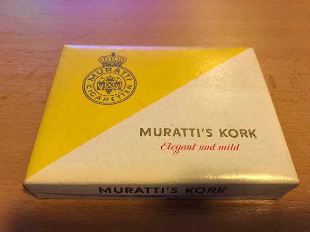 Muratti Zigarettenfabrik Muratti's Kork