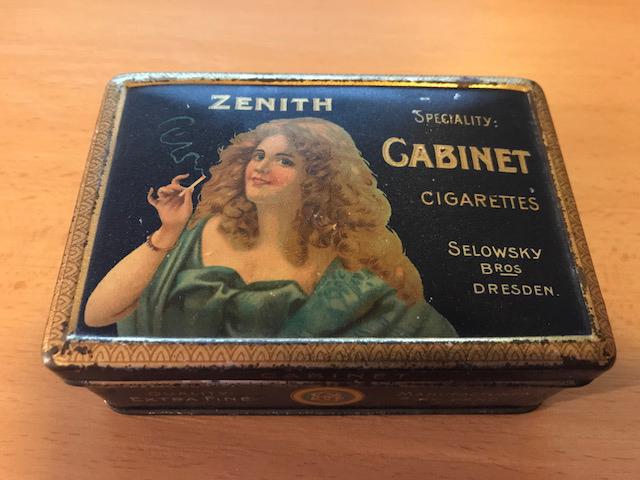 Selowski Bros. Zenit Cabinet Cigaretten