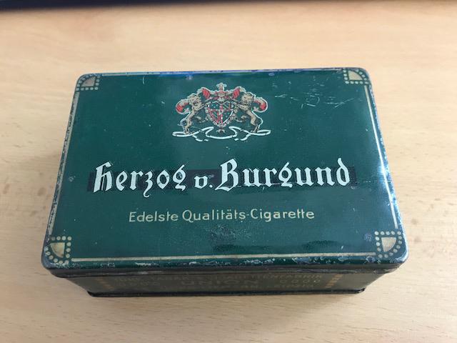Herzog v. Burgund Cigaretten Gebrüder Liemann