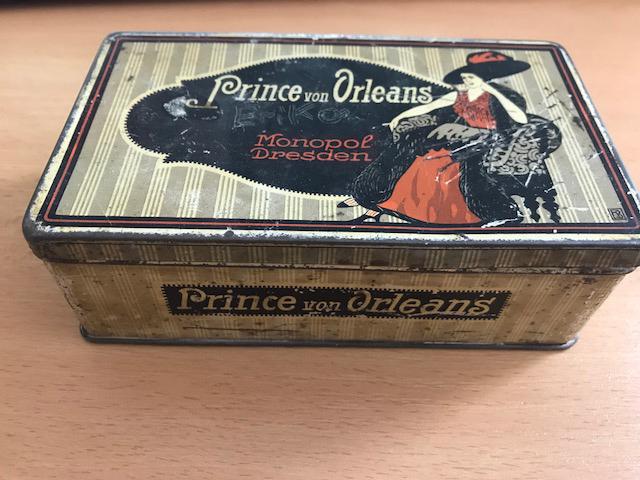 Prince von Orleans Zigaretten