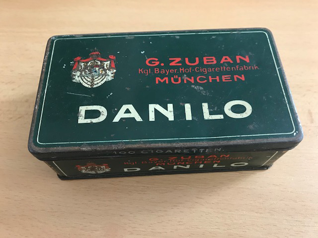 Zigarette Danilo von der Zuban Zigarettenfabrik