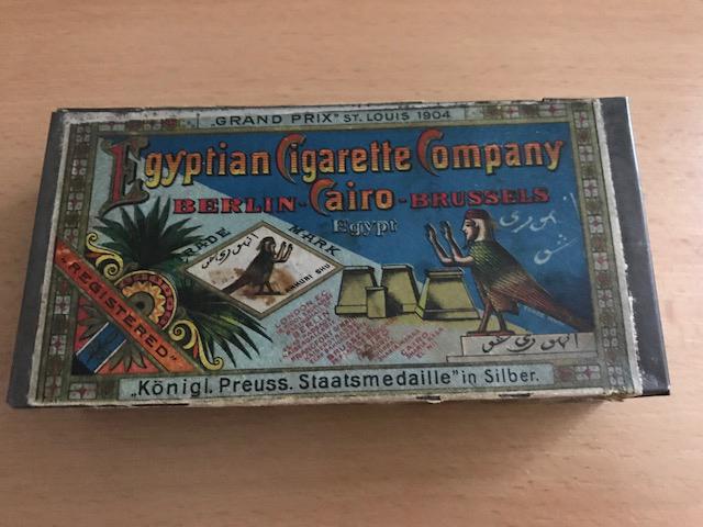 Blechdose Egyptian Cigarette Company