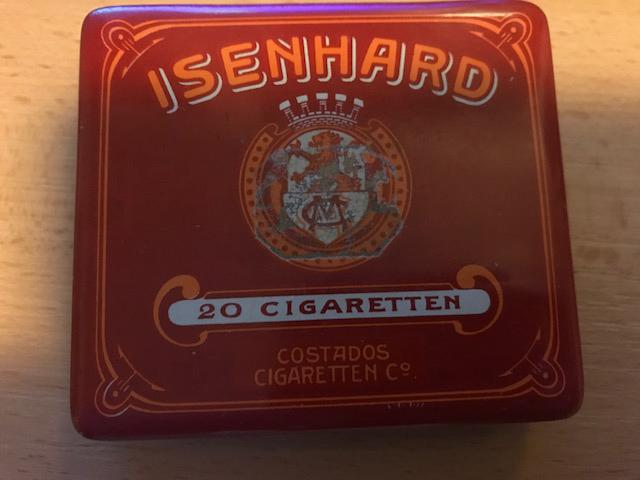 Blechdose Isenhard Cigaretten