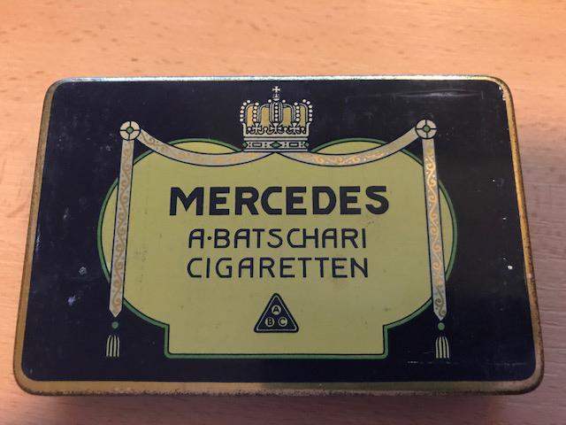 Mercedescigaretten von der Batschari Zigarettenfabrik