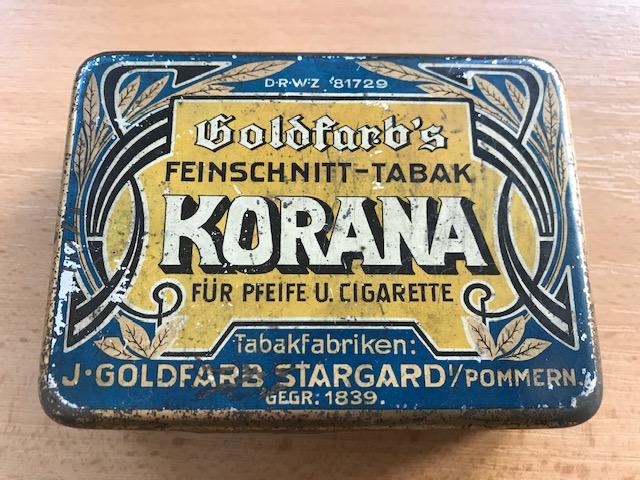 Korana Feinschnitt-Tabak