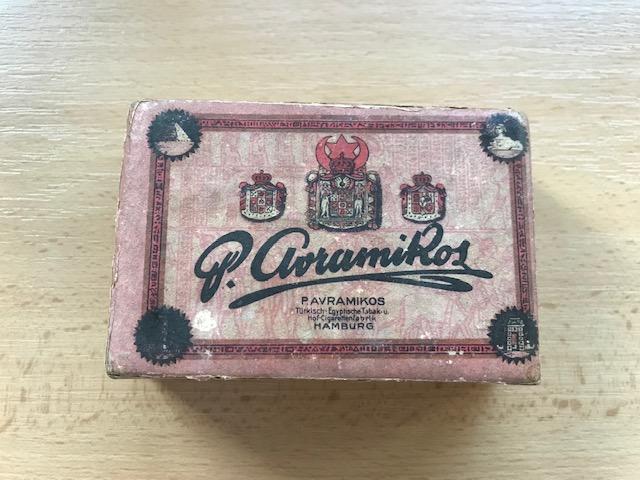 Eminenz Zigaretten P. Avramikos Hamburg